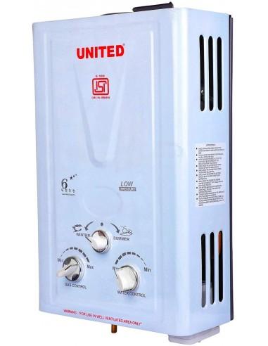 UNITED Gas Geyser (100% Copper Tank...